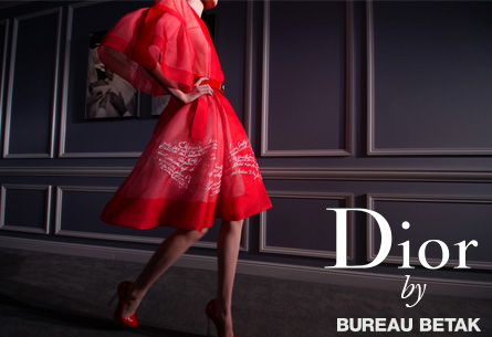 Dior Fashion Show Shanghai by Bureau Betak
