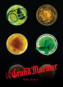 The Ultimate Grand Marnier Cocktail book. Photogaphy and art direction