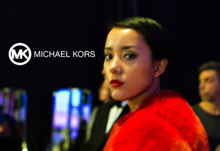 Michael Kors fashion show  in Shanghai. Photo and Video